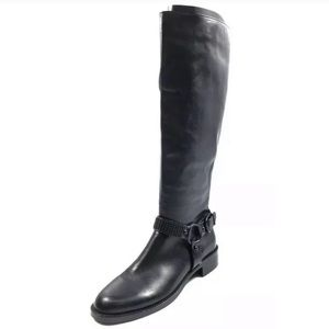 Via Spiga Brandice Tall Riding Studded Moto Boots